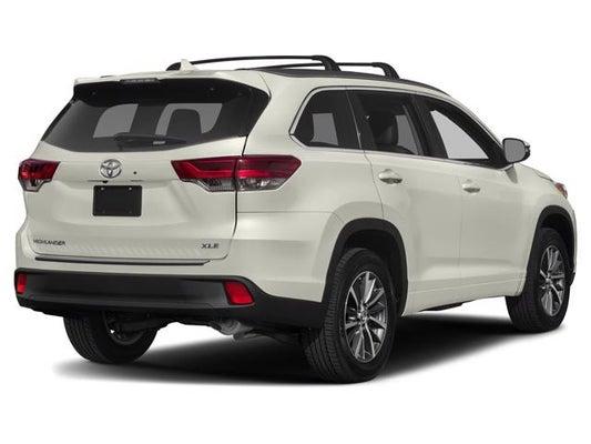 Toyota Highlander Xle >> 2019 Toyota Highlander Xle