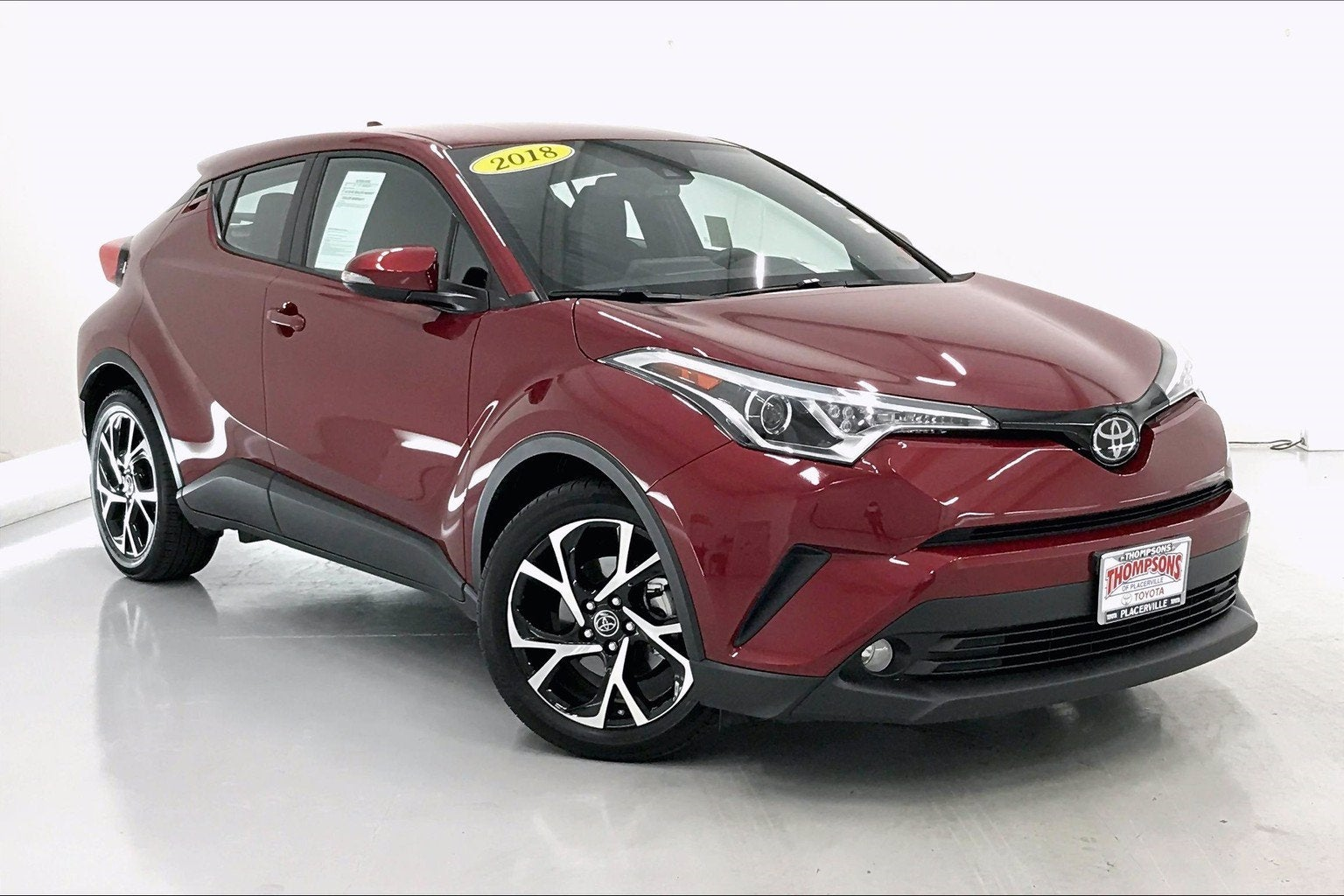 Thompson Toyota Placerville >> Toyota Vehicle Inventory Placerville Toyota Dealer In