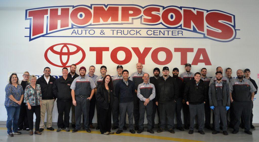 Thompson Toyota Placerville >> Service & Parts Department - Placerville Toyota dealer in ...